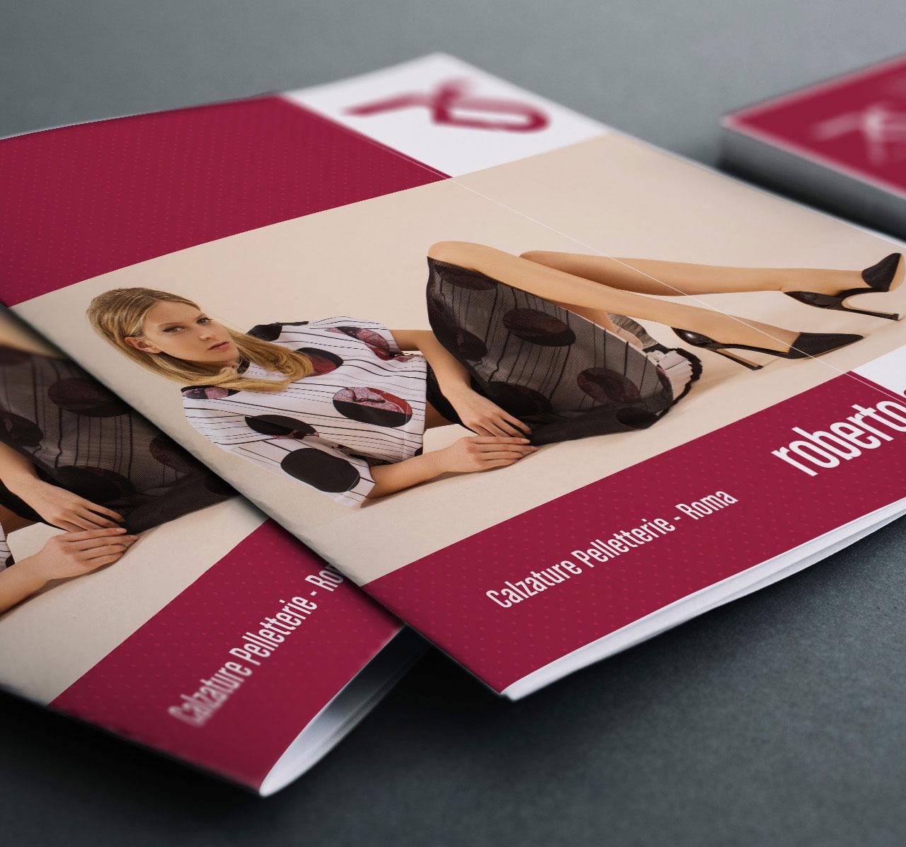 roberto spinelli calzature brochure istituzionale