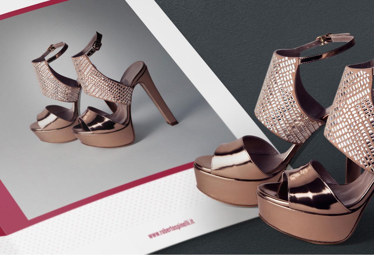 roberto spinelli calzature brochure