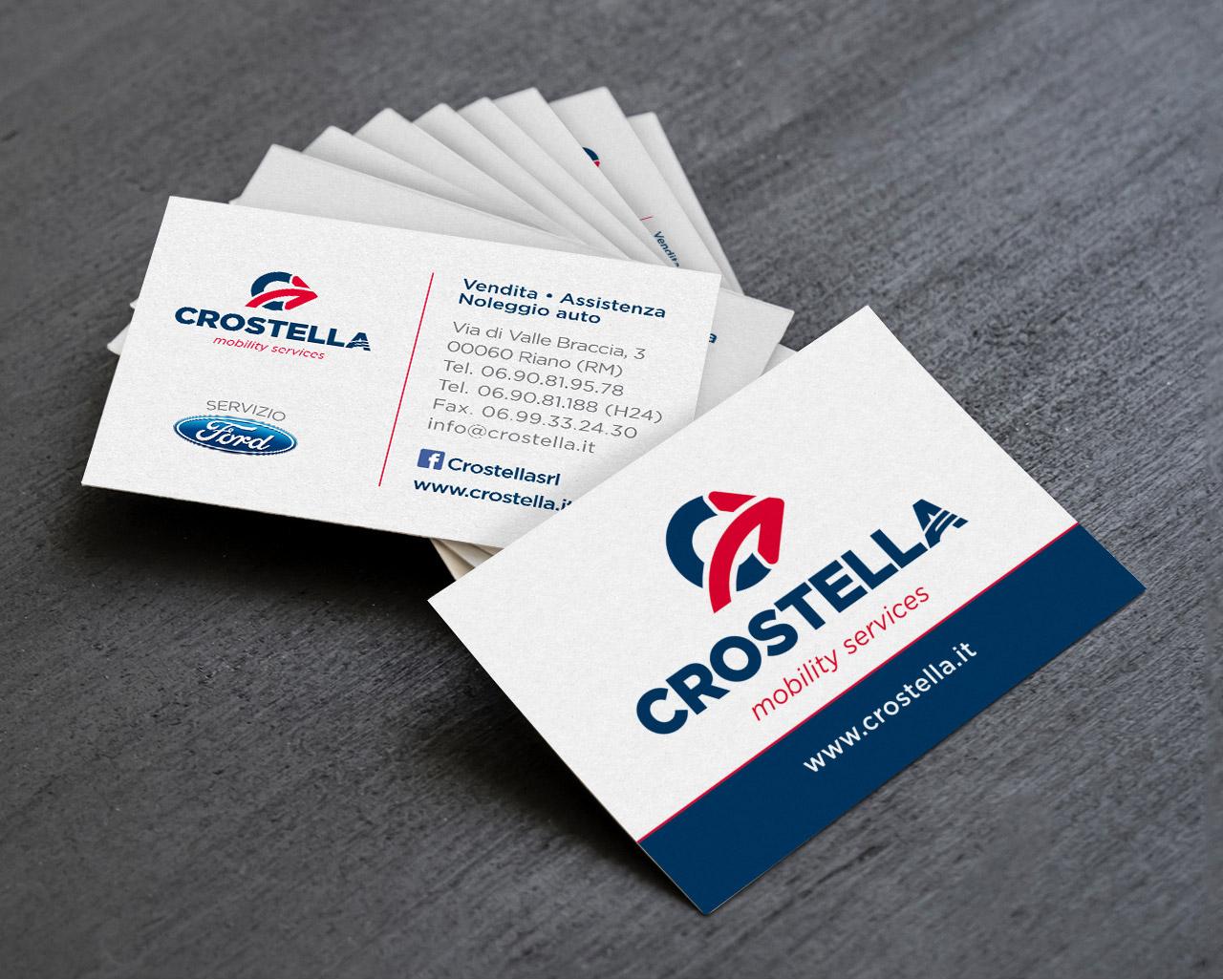 crostella mobility services riano biglietti da visita graphid