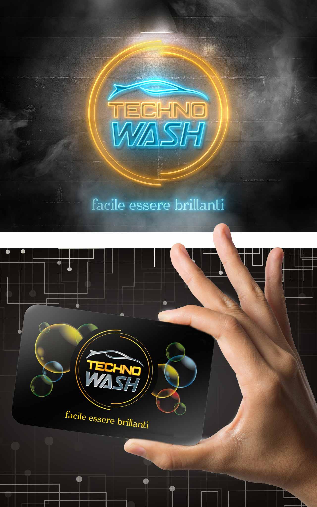graphid-autolavaggio technowash logo
