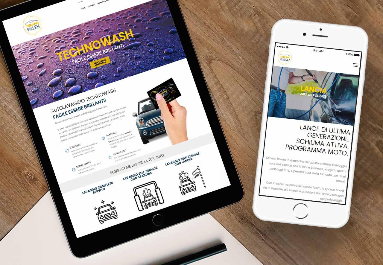 graphid-autolavaggio technowash sito responsive