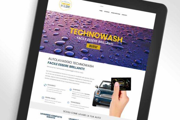 autolavaggio technowash sito mobile graphid