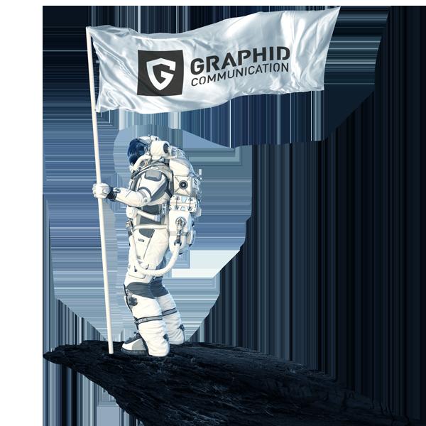 graphid comunicazione integrata astronauta
