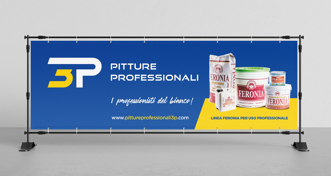Pitture professionali graphid banner