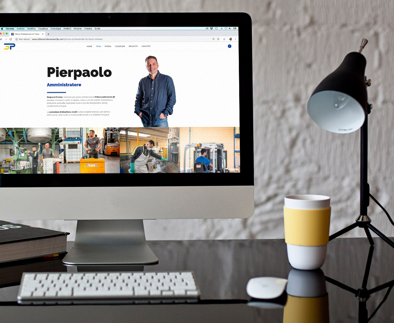 Pitture professionali graphid sito web