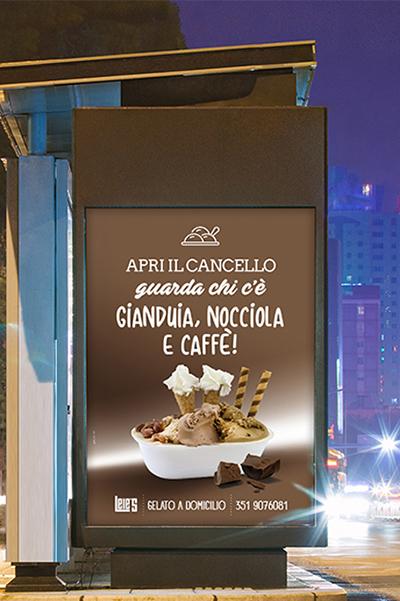 Campagna pubblicitaria lele's caffe