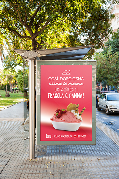 Campagna pubblicitaria lele's fragola