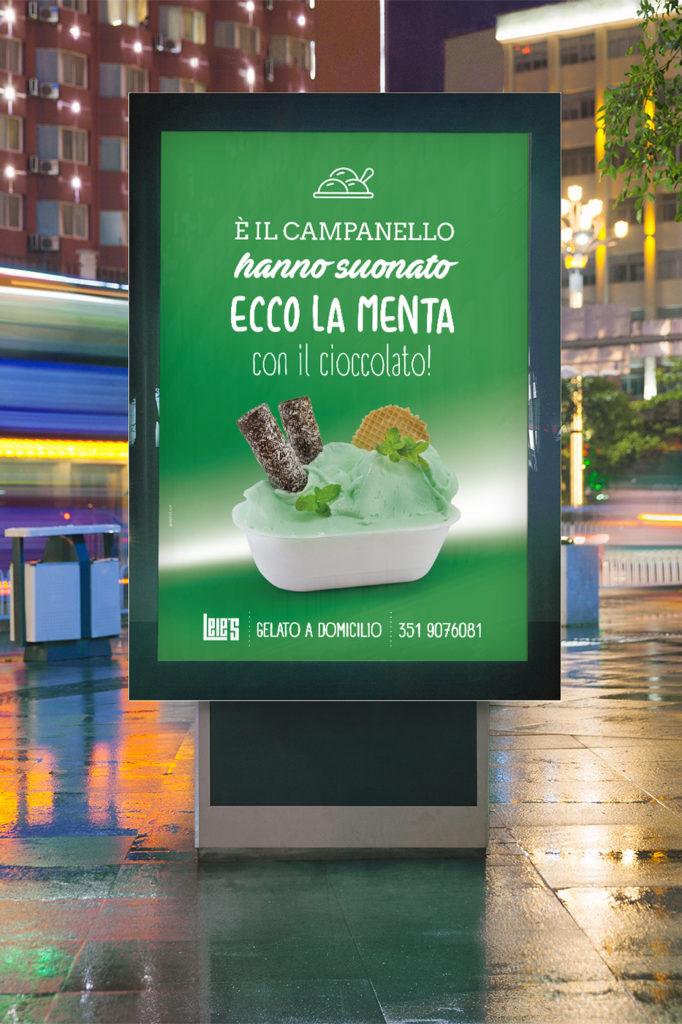 Campagna pubblicitaria lele's menta