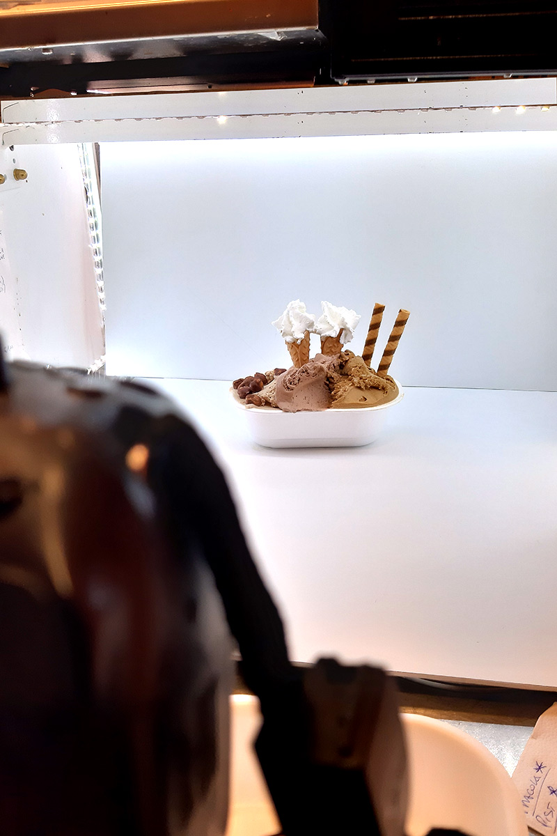 gelateria lele's shooting fotografico gelato