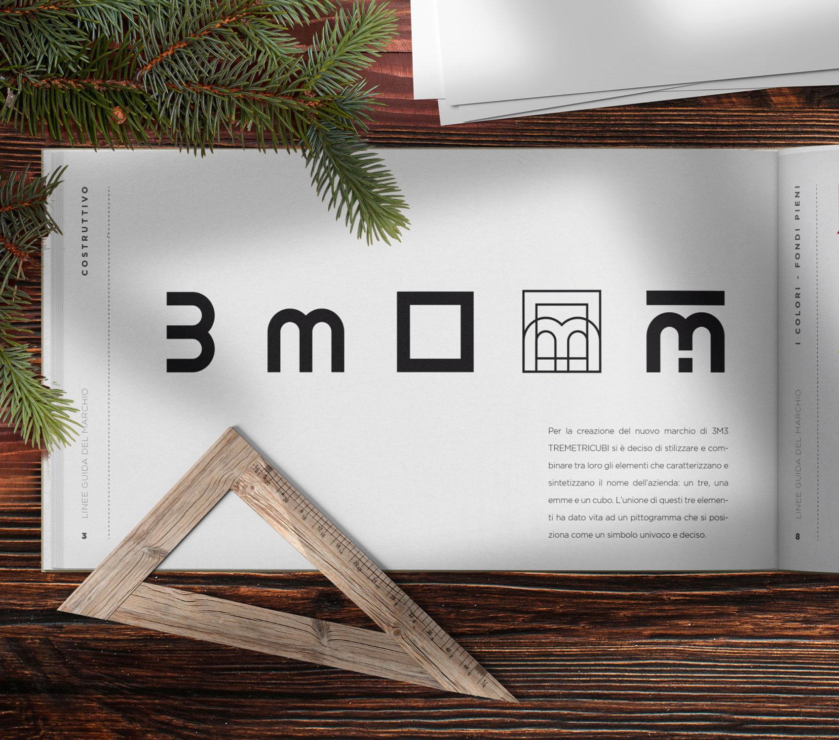 tre metri cubi logo costruttivo