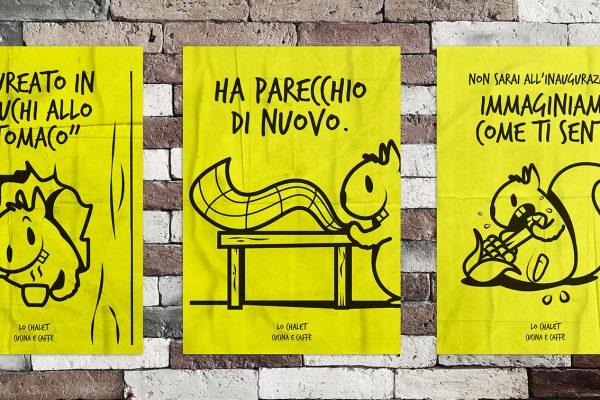 Campagna pubblicitaria – Bar Lo Chalet