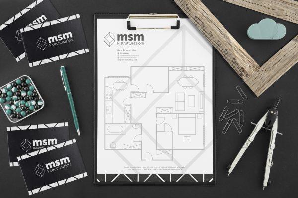 MSM Ristrutturazioni – Creazione Logo