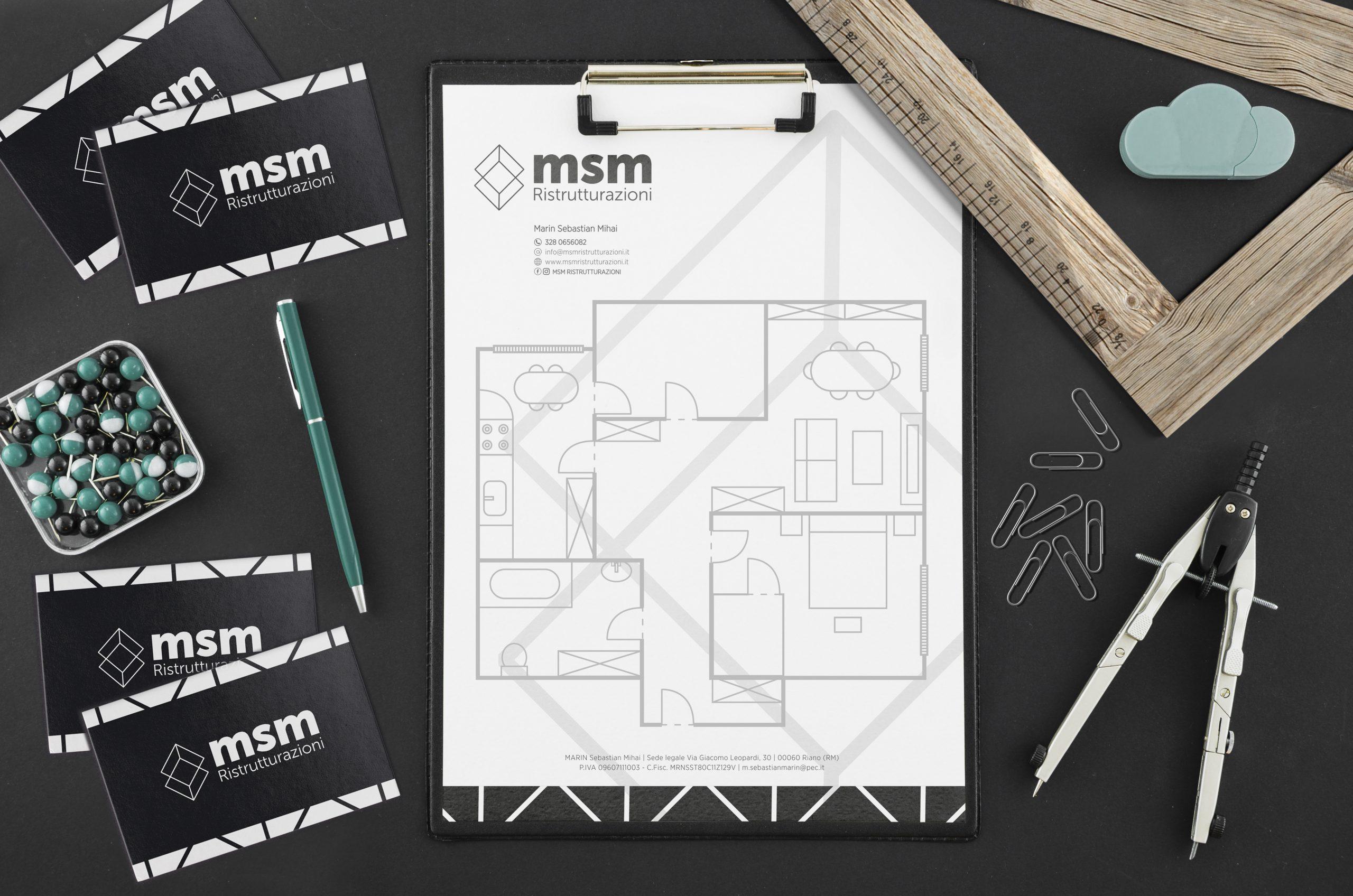 MSM_ristrutturazioni creazione logo